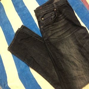 7 For All Mankind  Dark Denim Jeans Men's 31/31